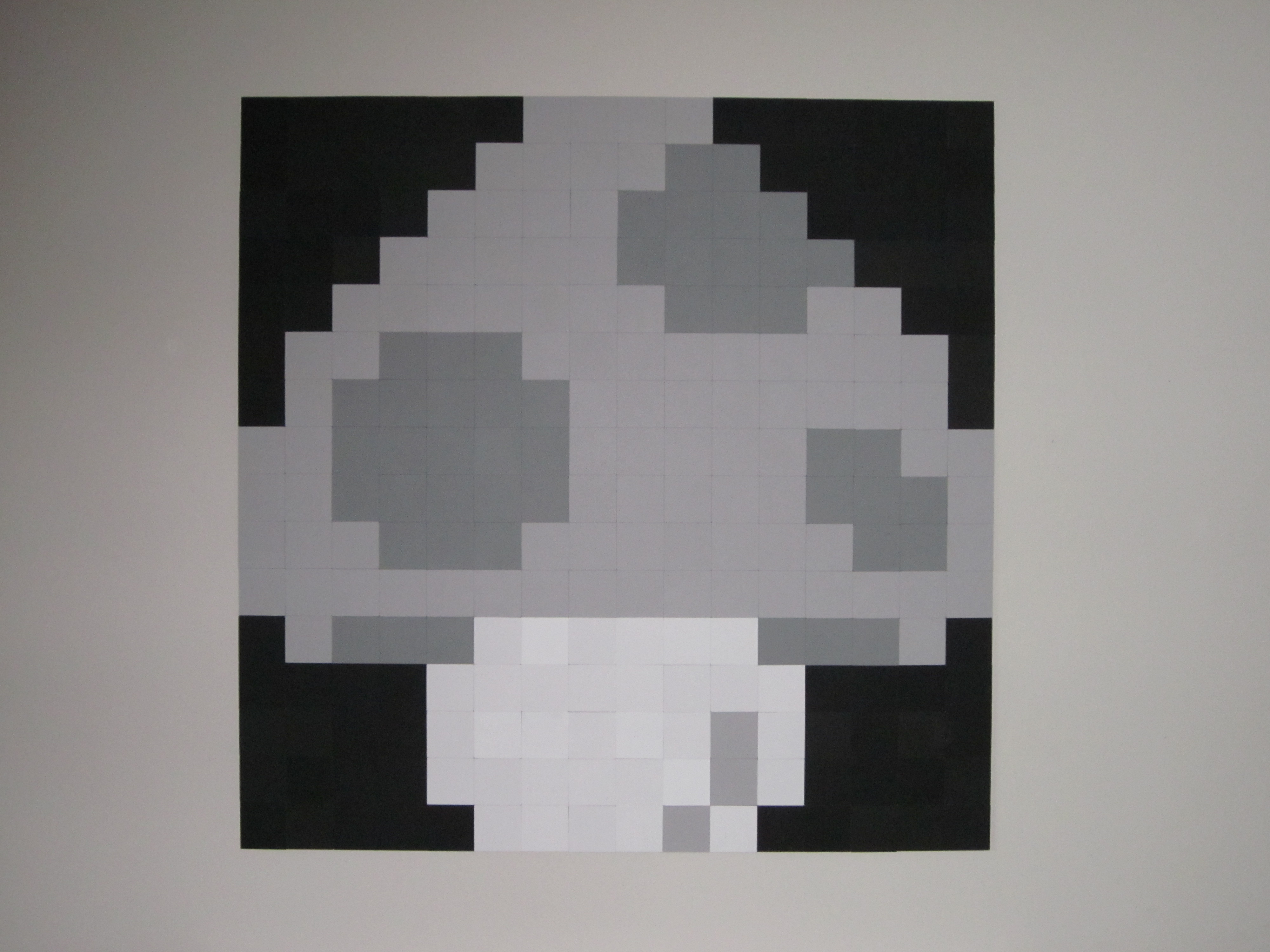 8 Bit Art Super Mushroom 8 Bit Living